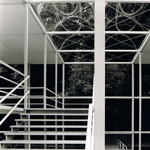 Sonsbeek paviljoen interieur